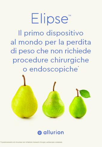 ELIPSE: il primo dispositivo al mondo per la perdita di peso che non richiede procedure chirurgiche o endoscopiche